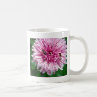 Pink Flower and Bugs Coffee Mug