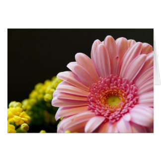 Pink Flower Any Occasion Blank Card - Floral Note