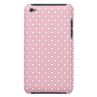 Pink Flower Argyle Pattern 2 iPod Touch Case
