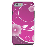 Pink Flower Blossoms - Customizable iPhone 6 Case