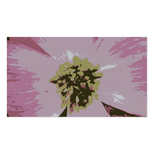 Pink Flower Bookmark Double-Sided Standard Business Cards (Pack Of 100)