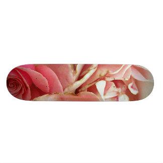 Pink Flower Bundle Skate Board Deck