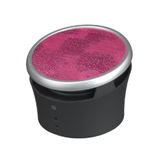 Pink Flower Burst Design Speaker