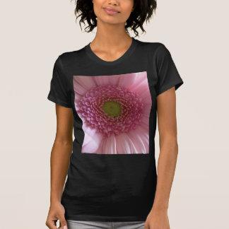 Pink Flower Close Up Big Flower T Shirt