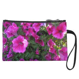 Pink Flower Cosmetic Bag