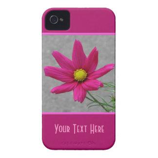 Pink Flower custom  iPhone case-mate iPhone 4 Case-Mate Case