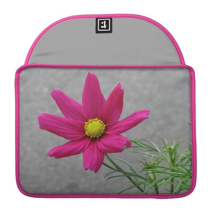 Pink Flower custom MacBook sleeve Sleeve For MacBook Pro