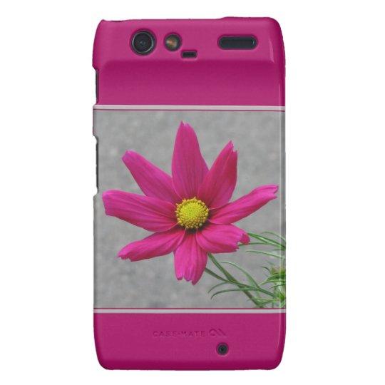 Pink Flower custom RAZR case