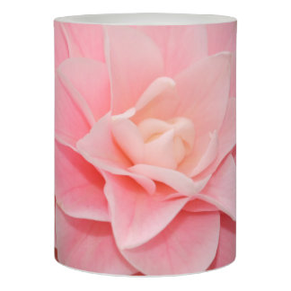 Pink Flower Flameless Candle