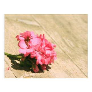 Pink Flower Flyer