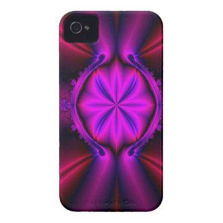 Pink Flower Fractal Case-Mate iPhone 4 Cases