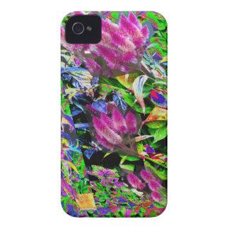 Pink Flower Garden Case-Mate iPhone 4 Cases
