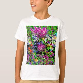 Pink Flower Garden T-Shirt