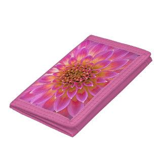 Pink Flower Girl wallet