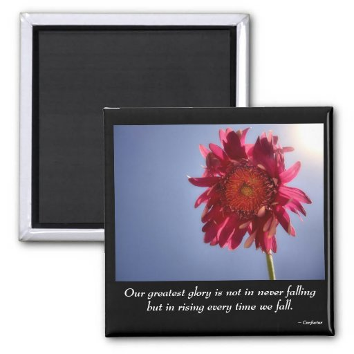Pink Flower Glory Magnet