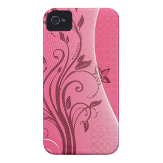 pink flower iPhone 4 Case-Mate cases
