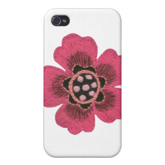 Pink Flower iPhone 4 Speck Case Covers For iPhone 4