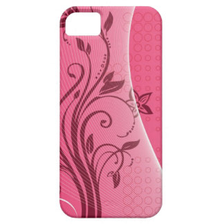 pink flower iPhone 5 cases