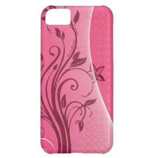 pink flower iPhone 5C cases