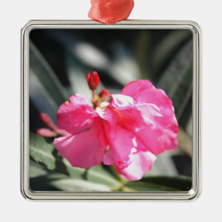 Pink flower, Italy Metal Ornament
