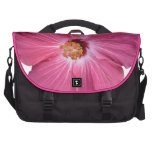 Pink Flower Laptop Bag