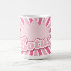 Pink Flower Lotus Coffee Mug