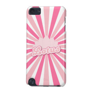Pink Flower Lotus iPod Touch 5G Cover