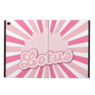 Pink Flower Lotus Powis iPad Air 2 Case