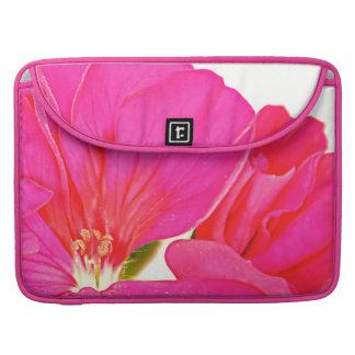 Pink Flower MacBook Pro Sleeve
