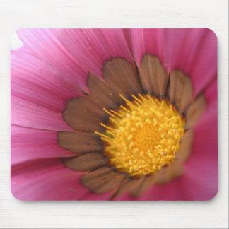 Pink flower macro photography mousepad gift idea
