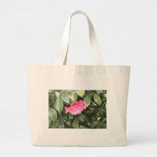 Pink Flower Motif III Tote Bag