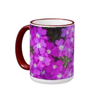 Pink Flower Mug mug