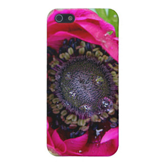Pink flower not quite open iPhone SE/5/5s case