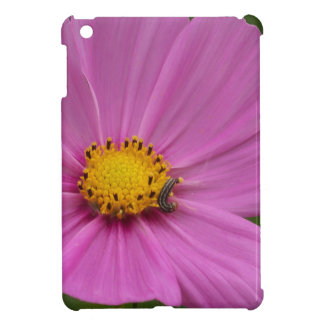 Pink Flower on a card or gift Cover For The iPad Mini