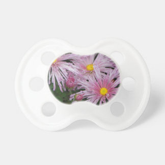 Pink Flower Photo Gift Pacifier