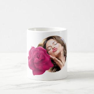 Pink Flower photo mug