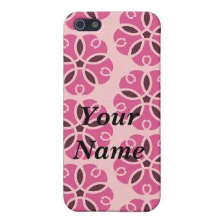 PINK FLOWER POWER GIRL FRIENZ IPOD PHONE CASE
