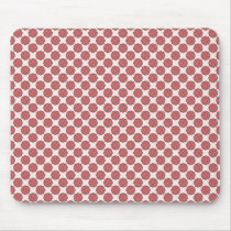 Pink Flower Ribbon by Kenneth Yoncich Mouse Pad