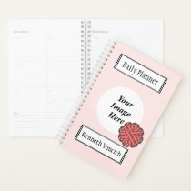 Pink Flower Ribbon by Kenneth Yoncich Planner