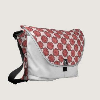 Pink Flower Ribbon Courier Bag