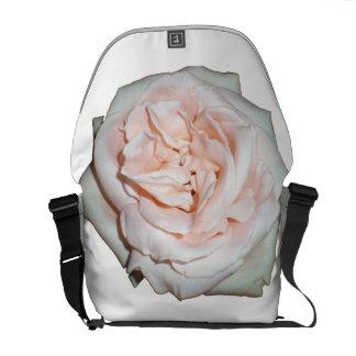 Pink Flower Rickshaw Messenger Bag