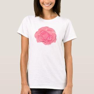 Pink Flower Rose Tee