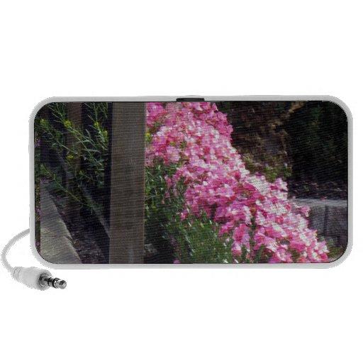 PINK Flower sensual romantic colorful lowprice fun Portable Speaker