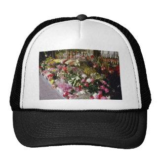 Pink Flower Shop display flowers Hat