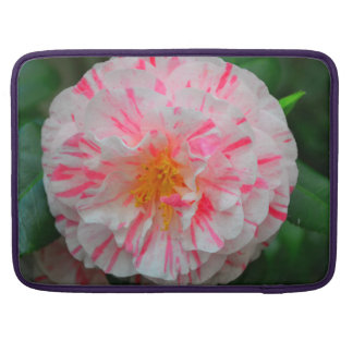 Pink flower sleeve for MacBook pro