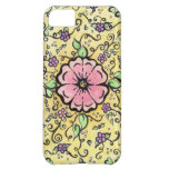 Pink Flower - Spring Case For iPhone 5C