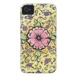 Pink Flower - Spring iPhone 4 Case-Mate Case