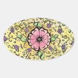 Pink Flower - Spring Sticker