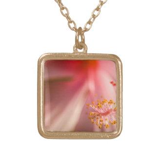 Pink Flower Stamen Macro Photography Custom Jewelry