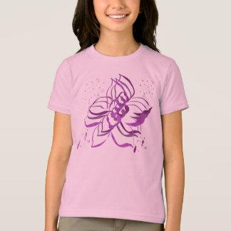 Pink Flower Tee Shirt
